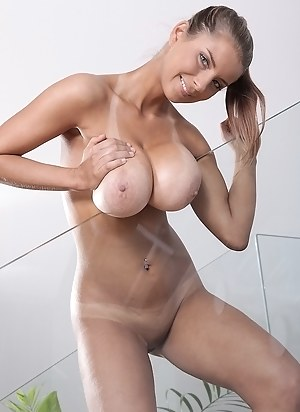 Tanned Big Tits Porn Pictures