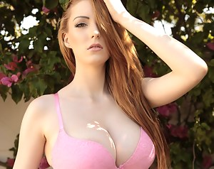 Big Tit Redhead Porn Pictures